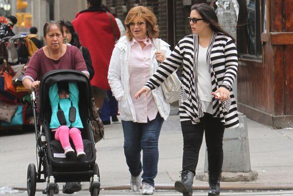 Hace unos días se vio a la actriz paseando por las calles de Nueva York...