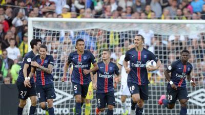 El PSG recurre a sus estrellas para pegarle 4-1 al Nantes