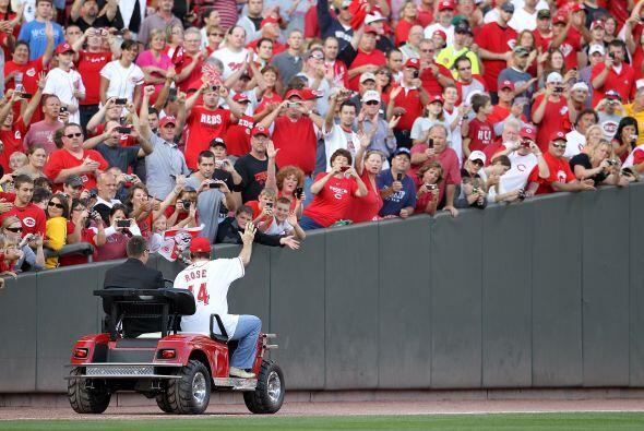 Los Reds de Cincinnati celebraron el 25 aniversario del récord im...
