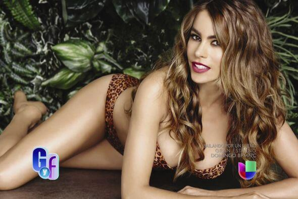 Sofía Vergara es una bella tigresa en bikini y el 'look' de Kim y Kanye...