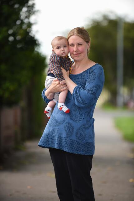 Un bebé recién nacido salvó la vida de su madre