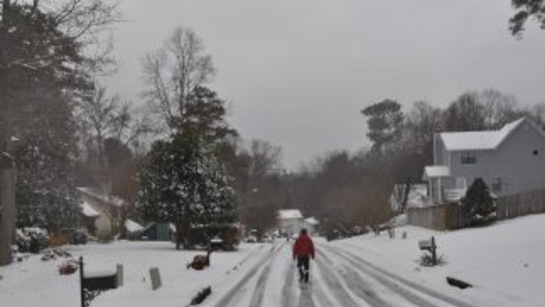 Georgia está bajo alerta por tiempo invernal desde el miércoles hasta el...