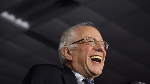 Bernie Sanders está a un paso de conseguir una peculiar haza&ntil...