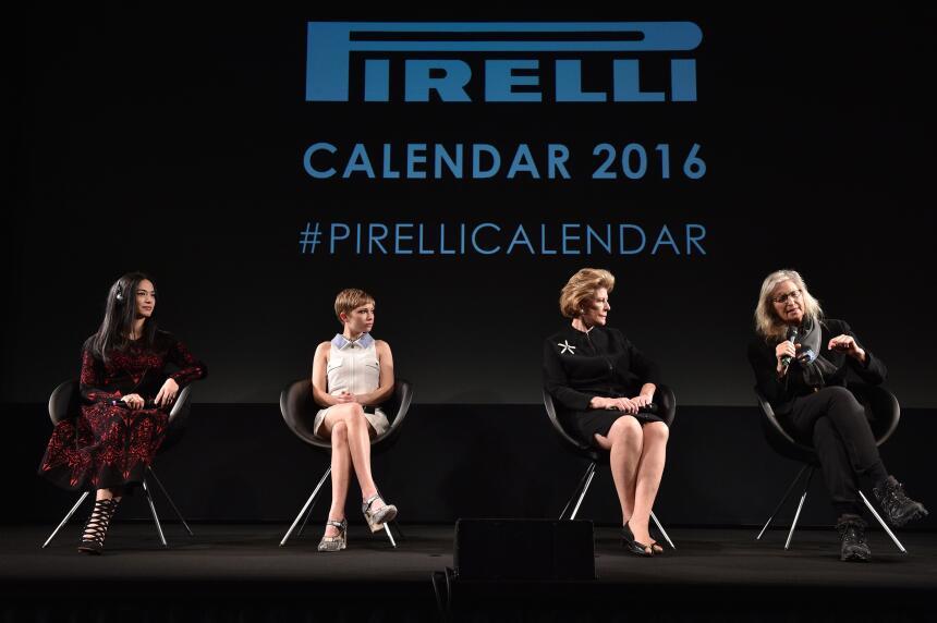 Calendario Pirelli 2016