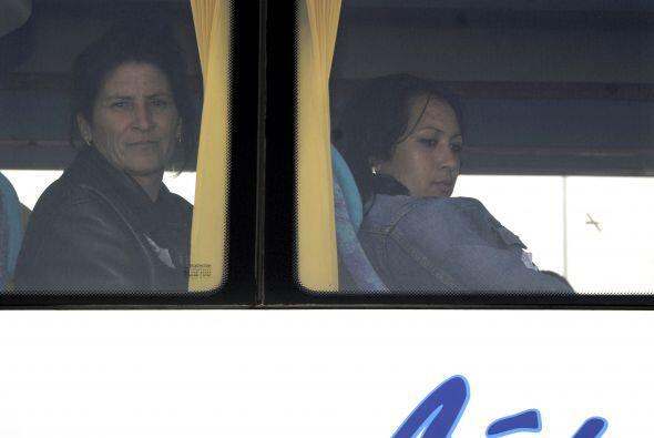 Los disidentes cubanos llegaron en un avión contratado por el gobierno e...