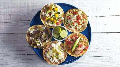 Adiós tacos... 5 maneras de comer tostadas mexicanas