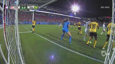 La que faltaba: Alex Morgan se reportó con el quinto gol del Team USA