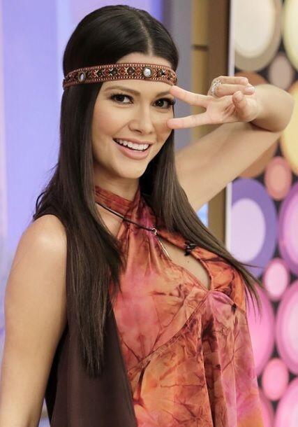 """Peace & Love @AltaImages"", mostró Ana Patricia. (Octubre 9, 2014)"