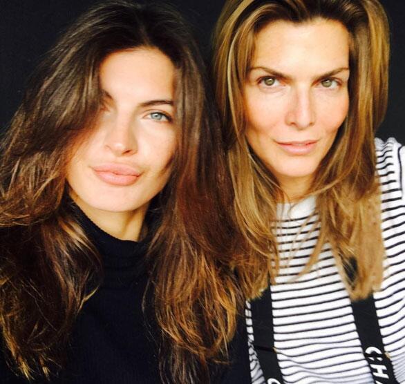 Montserrat Oliver y Yaya Kosikova
