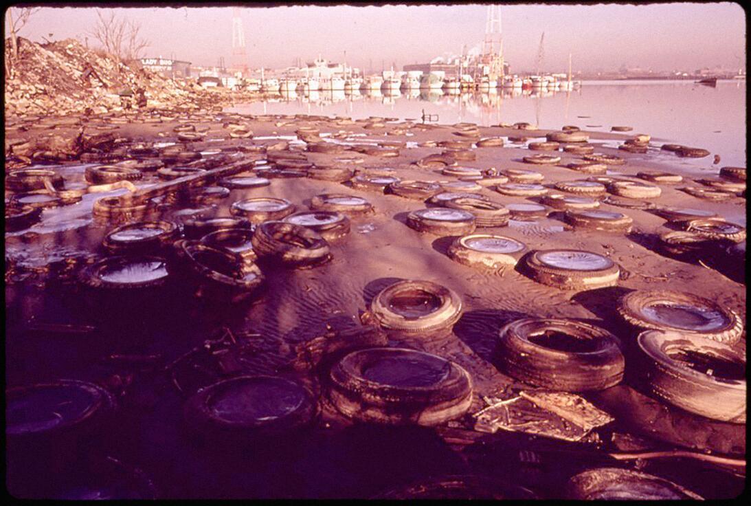 El ramal intermedio del Puerto de Baltimore en 1977