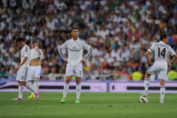 El Real Madrid sufrió su primera derrota de la temporada en el Bernabéu...