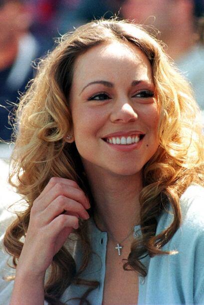Mariah Carey fue su primer amor en la farándula. Aquí la cantante presen...