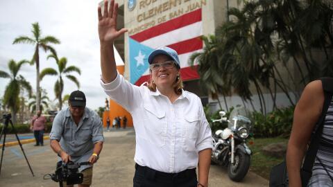 Carmen Yulín Cruz, líder de San Juan, se ha hecho escuchar...