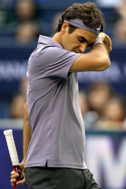 Federer se quedó con las ganas de igualar el récord de victorias en un M...