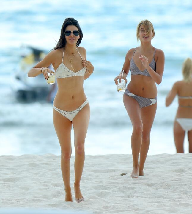 Las hermanas disfrutaron así de sus vacaciones mexicanas.