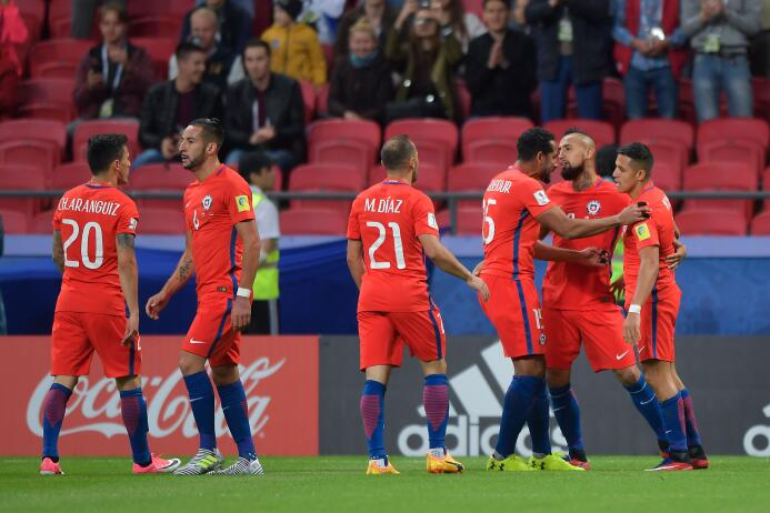 Chile y Alemania dieron espectáculo en el empate 1-1 de la Confederacion...