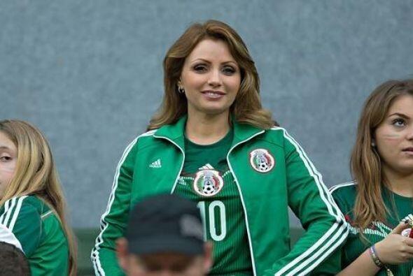 Apoyaron a la selección mexicana.