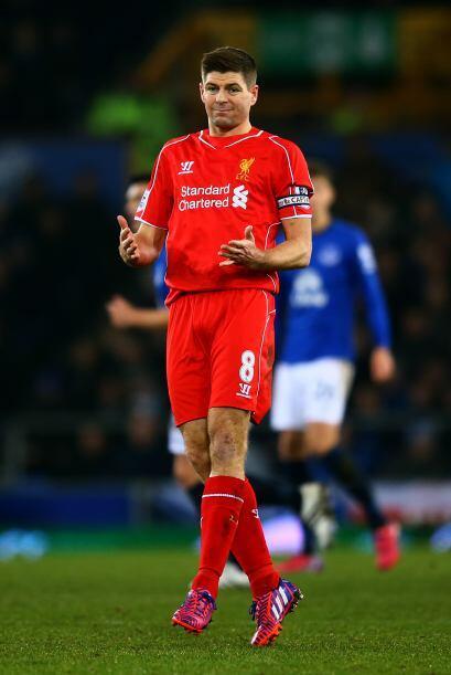 Seteven Gerard vive sus últimos momentos en la Premier League per...
