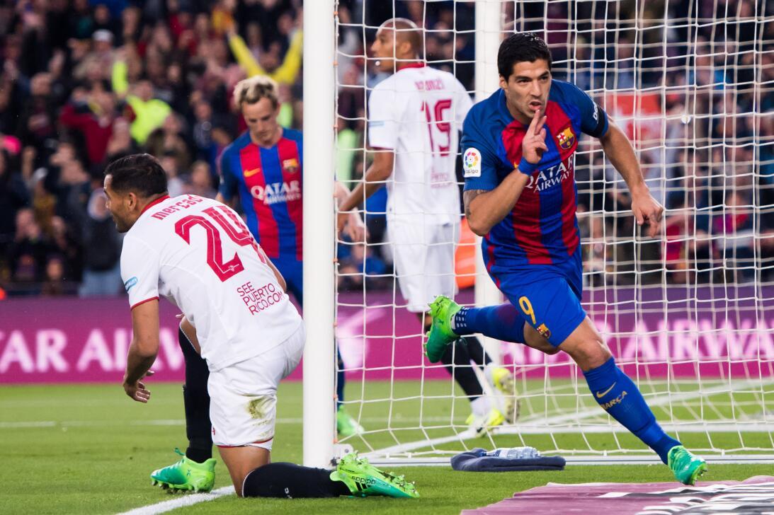 1. Luis Suárez (Barcelona) - Son 11 asistencias y 24 goles las cifras qu...