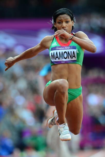 Patricia Mamona, representó a Portugal en el Europeo de Atletismo.