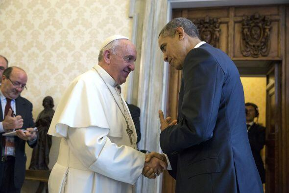 Obama visitó al papa en 2014.(Cortesía: National Archives, Ronald Reagan...