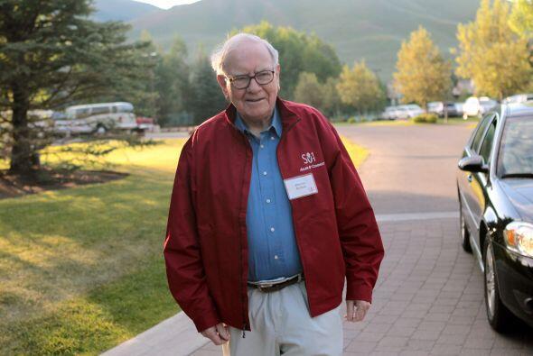 La fortuna de Buffett, en sólo un año, agregó $3 mil millones gracias a...