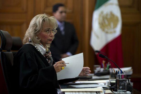 1. Olga Sánchez Cordero. La abogada y Ministra de la Suprema Corte de Ju...