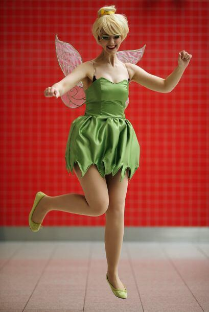 Tinkerbell es el disfraz perfecto para las amantes de las hadas.