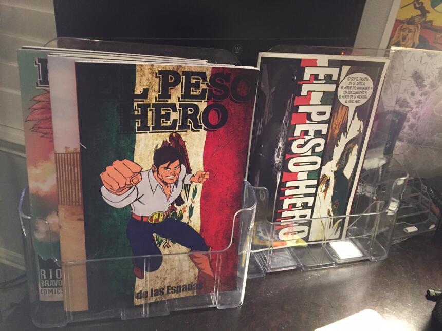 El Peso Hero, un superhéroe que pone la lupa sobre la frontera y la inmi...