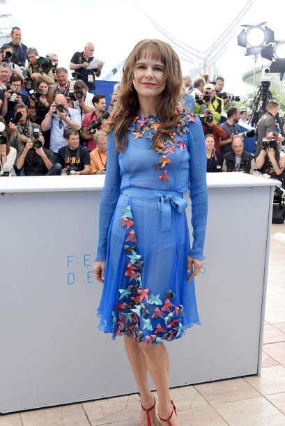 La mexicana presentó en el festival la cinta 'Chronic', de Michel Franco.
