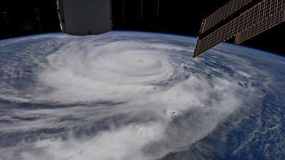 Así se ve el huracán Irma desde el espacio (FOTOS)