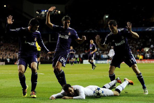 A partir de allí el Tottenham intentó pero nunca lleg&oacu...