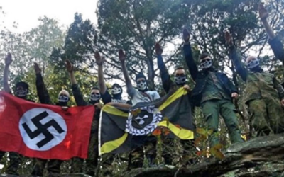 La División Atomwaffen del nacionalismo blanco en Estados Unidos...