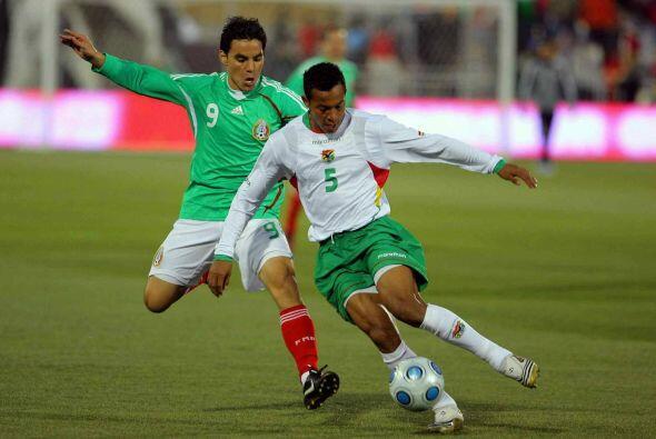 La primera goleada entre mexicanos y bolivianos se daría en el am...