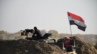 Avance de coalición internacional en Irak frente al ISIS