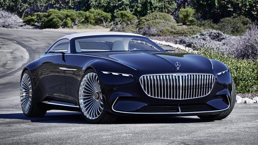 El Vision Mercedes-Maybach 6 Cabriolet es una ventana al futuro de los e...