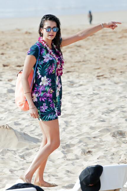 La actriz se fue de vacaciones con otra de sus amigas famosas, Jessica S...