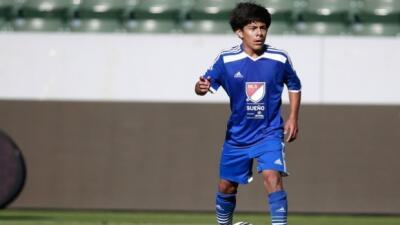 Baltazar Duran, ganador de Sueno MLS
