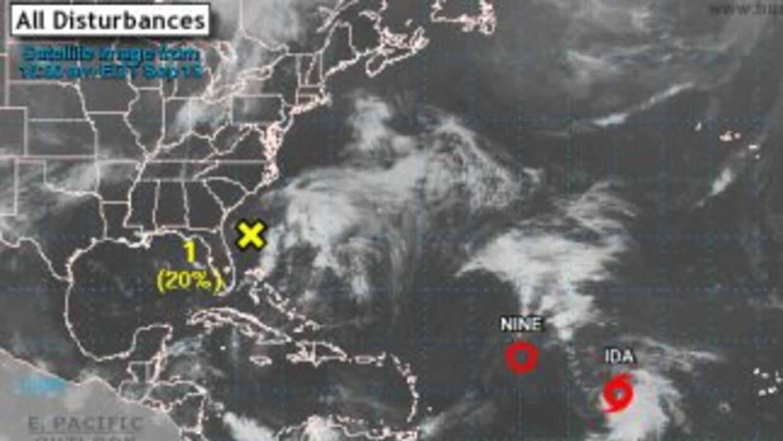 Tormenta tropical Ida.