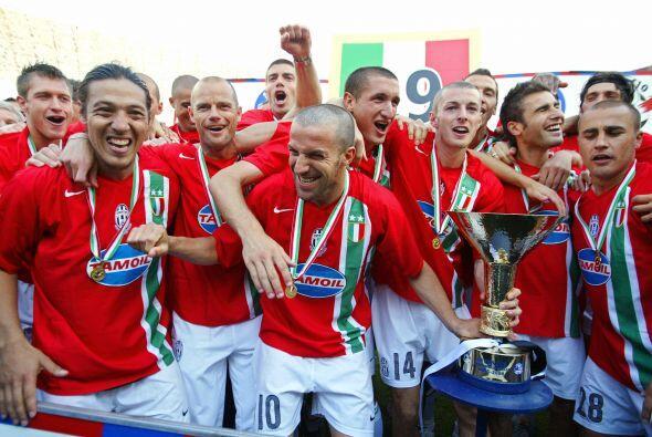 """Ganó los títulos de Liga italiana de  2004""""05 y 2005""""06, pero a causa de..."""