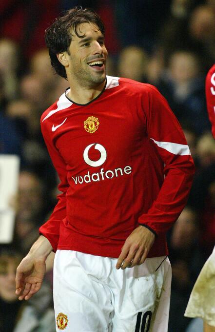 Temporada 2004/2005 - Ruud van Nistelrooy (Manchester United) con 8 goles.