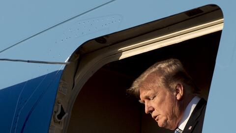 El presidente Trump siente que las últimas acusaciones hechas por...