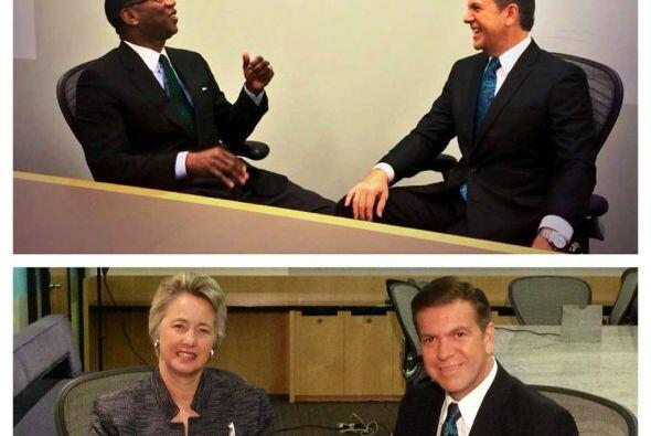 A finales de ese mes, pudimos conversar con los dos candidatos más fuert...