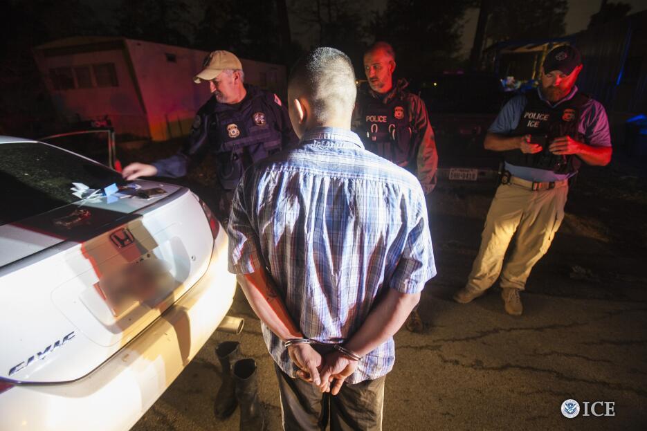 ICE arresta a 36 al sur de Texas