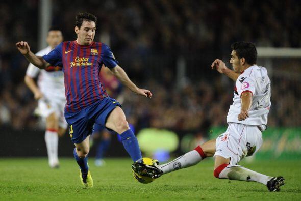 'La Pulga' Messi venía de 3 partidos sin poder convertir pero comenzó co...