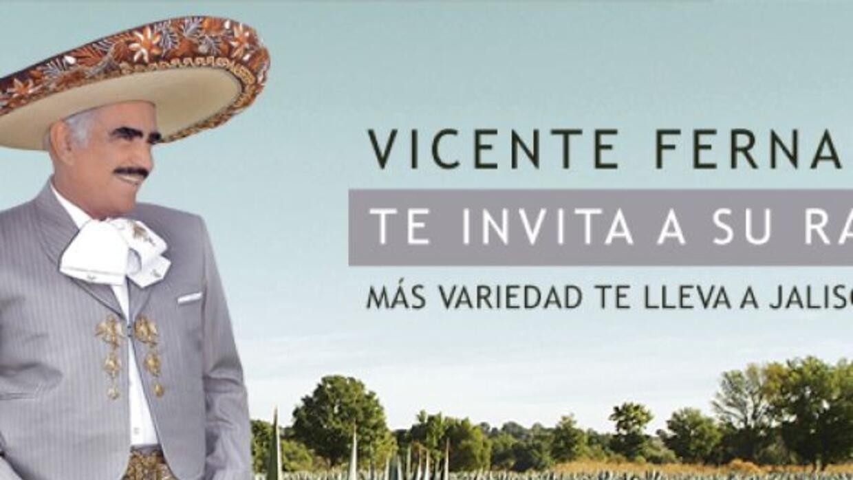 Vicente Fernández te invita a su rancho Los Tres Potrillos!