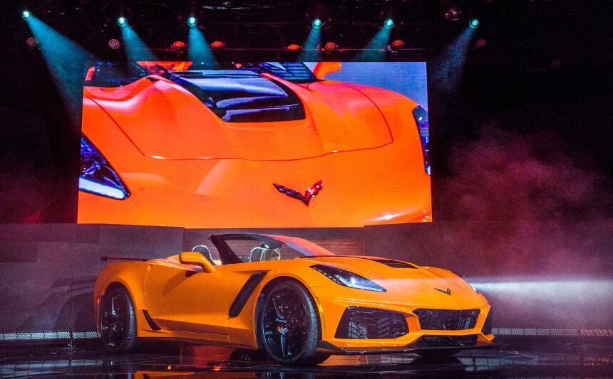 Chevrolet Corvette ZR1 convertible 2019