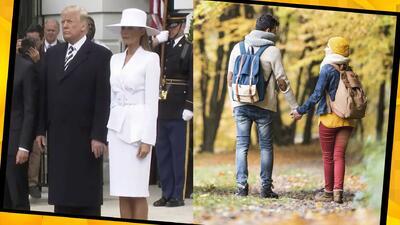 (Video) Agarrarse de manos con tu pareja: ¿actúas como Donald o Melania Trump?