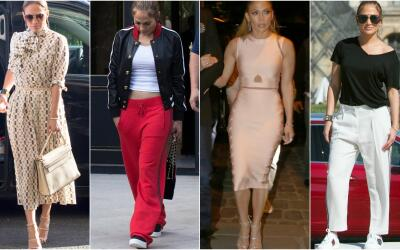 Jennifer Lopez en Paris