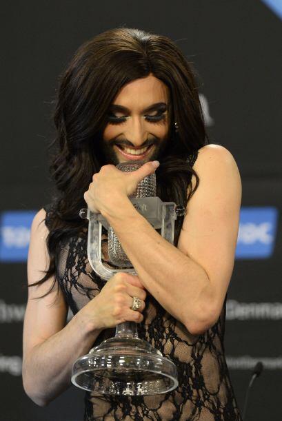 Pero las críticas no han empañado la felicidad de Conchita por su premio.